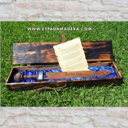 WOODEN BOX FOR ROMAN RUDIS